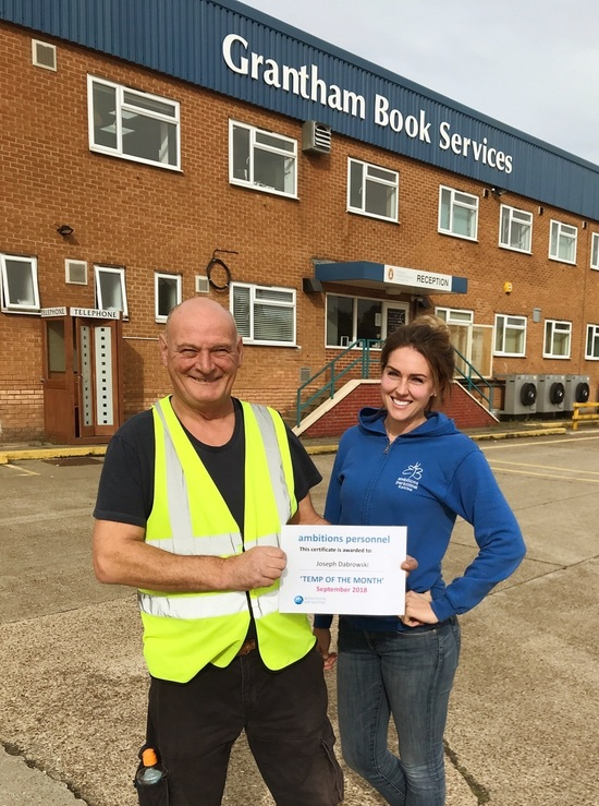 Temp of the Month - September
